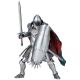 風の谷のナウシカ タケヤ式自在置物 トルメキア装甲兵 クシャナ親衛隊Ver.