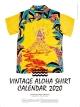 ビンテージアロハシャツ 2020 カレンダー