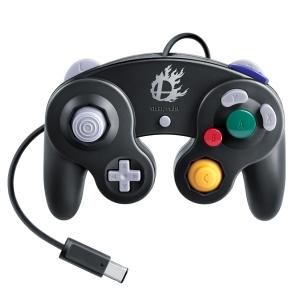 ニンテンドーゲームキューブコントローラ:スマブラブラック