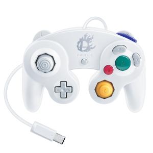 ニンテンドーゲームキューブコントローラ:スマブラホワイト