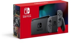 Nintendo Switch:Joy-Con(L)/(R)グレー(HADSKAAAA)