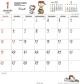 ホワイトボード スヌーピー 2020 カレンダー