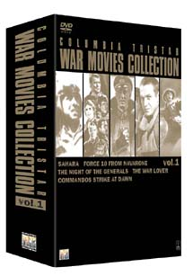 COLUMBIA TRISTAR WAR MOVIES COLLECTION 1