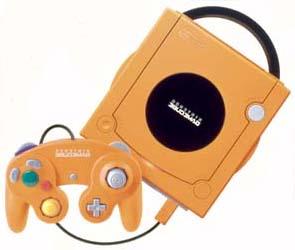ニンテンドーゲームキューブ:オレンジ
