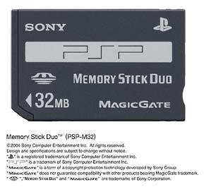 メモリースティック デュオ (32MB)