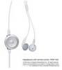 リモコン付きヘッドフォン:ホワイト
