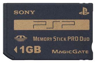 メモリースティックPROデュオ (1GB)