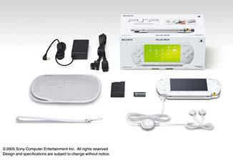 PSP バリューパック:セラミック・ホワイト