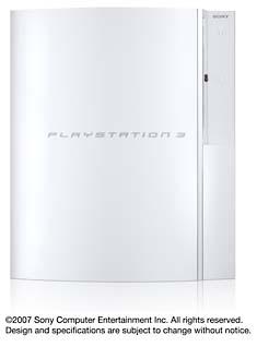 PLAYSTATION3(HDD40GB):セラミック・ホワイト