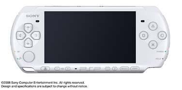 PSP「プレイステーション・ポータブル」:パール・ホワイト(PSP3000PW)