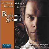 ゴルトマルク:ヴァイオリン協奏曲&ブラームス:二重協奏曲