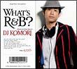 WHAT'S R&B?