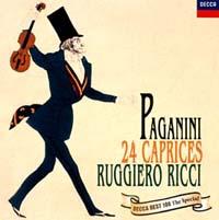 リッチ(ルッジェーロ)『パガニーニ/24のカプリース』