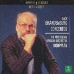 コープマン(トン)&アムステルダム・バロック管弦楽団『J.S.バッハ/ブランデンブルク協奏』