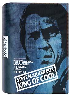 スティーヴ・マックィーンのDVD-BOX:キング・オブ・クール<限定版>