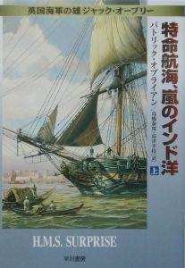特命航海、嵐のインド洋
