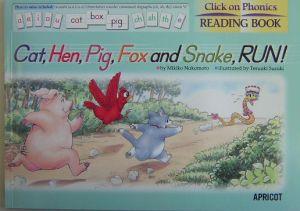 『Cat,hen,pig,fox and snake,run!』中本幹子