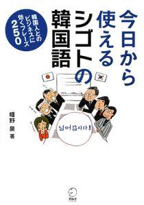 『今日から使えるシゴトの韓国語』幡野泉