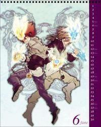 家庭教師ヒットマンREBORN! 集英社コミックカレンダー 2010