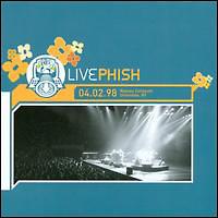 フィッシュ『4/2/98 Nassau Coliseum, Uniondale, NY(3 CDs)』