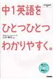 中1英語をひとつひとつわかりやすく。 CD付