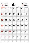 シンプル・エコロジー・カレンダー B3 2008