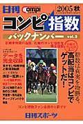 日刊コンピ指数バックナンバー 2005秋