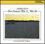 シベリウス:交響曲第1番 ホ短調 作品39、第6番 ニ短調 作品104