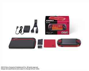 PSP「プレイステーション・ポータブル」バリューパック:ブラック/レッド(PSPJ30017)