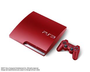 PlayStation3 320GB:スカーレット・レッド(CECH3000BSR)