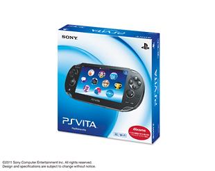 PlayStation Vita 3G/Wi-Fiモデル:クリスタル・ブラック(PCH1100AA01) <初回限定版>