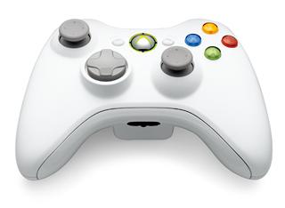 Xbox360 ワイヤレスコントローラー:ピュアホワイト