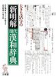 新明解 現代漢和辞典 大きな活字の