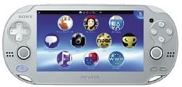 PlayStation Vita Wi-Fiモデル:アイス・シルバー(PCHJ10007)