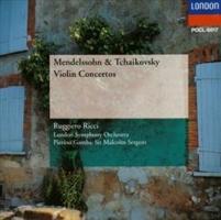 リッチ(ルッジェーロ)『チャイコフスキー&メンデルスゾーン:ヴァイオリン協奏曲集』