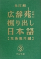 広辞苑の中の掘り出し日本語 花鳥風月編 (3)
