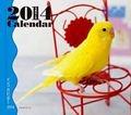 ミニカレンダー インコ 2014