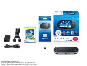PlayStationVita 3G/Wi-Fiモデル Play!Game Pack(PCHJ10012)