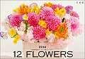 花時間 12の花あしらいカレンダー 2014