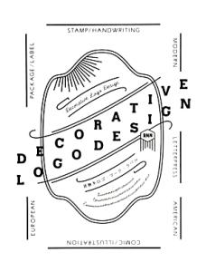 DECORATIVE LOGO DESIGN 装飾系ロゴ・マーク・ラベル