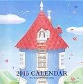 花舞うムーミンハウスカレンダー 2015