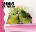 ミニカレンダー インコ 2015
