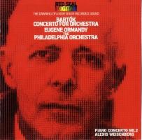 ワイセンベルク(アレクシス)『バルトーク:管弦楽のための協奏曲 ピアノ協奏曲第2番』