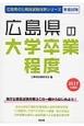 広島県の公務員試験対策シリーズ 広島県の大学卒業程度 2017