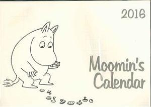 ムーミントロールとボタンカレンダー 2016