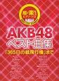 AKB48ベスト曲集 「365日の紙飛行機」まで 超♪楽らくピアノ・ソロ 全音名フリガナ・両手指番号付