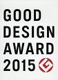 GOOD DESIGN AWARD 2015 YEAR BOOK