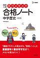 高校入試 実力メキメキ合格ノート 中学歴史<改訂版>