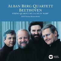 アルバン・ベルク四重奏団『ベートーヴェン:弦楽四重奏曲 第1番&第10番「ハープ」(1989年ライヴ)』