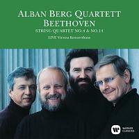 アルバン・ベルク四重奏団『ベートーヴェン:弦楽四重奏曲 第4番&第14番(1989年ライヴ)』